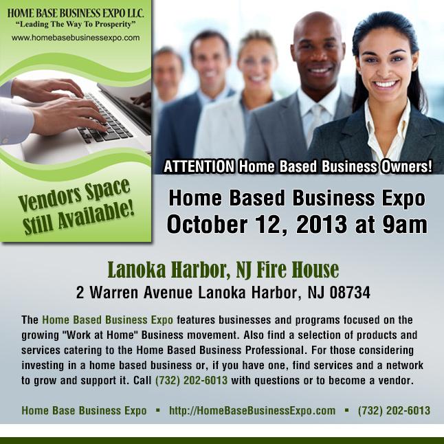 Home Base Business Expo Coming to Lanoka Harbor -